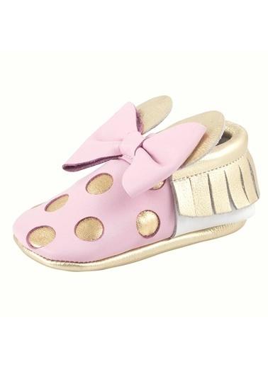 Moots Moots Pembe Gold Minnie Mouse Ayakkabı Pembe